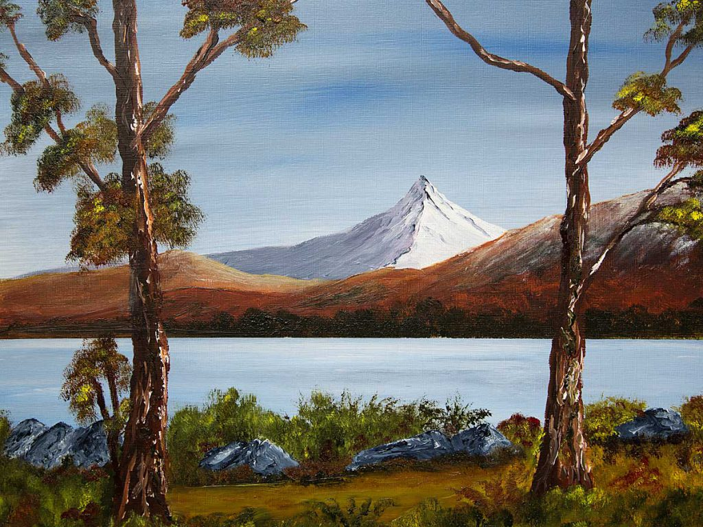 Schiehallion Painting and Print landscape and mountain art