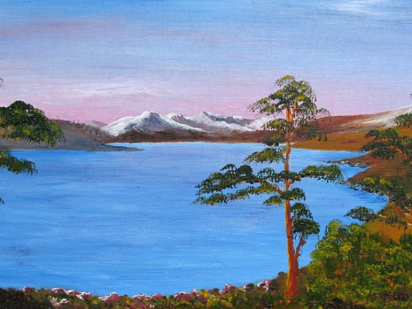 Knoydart from Loch Quoich