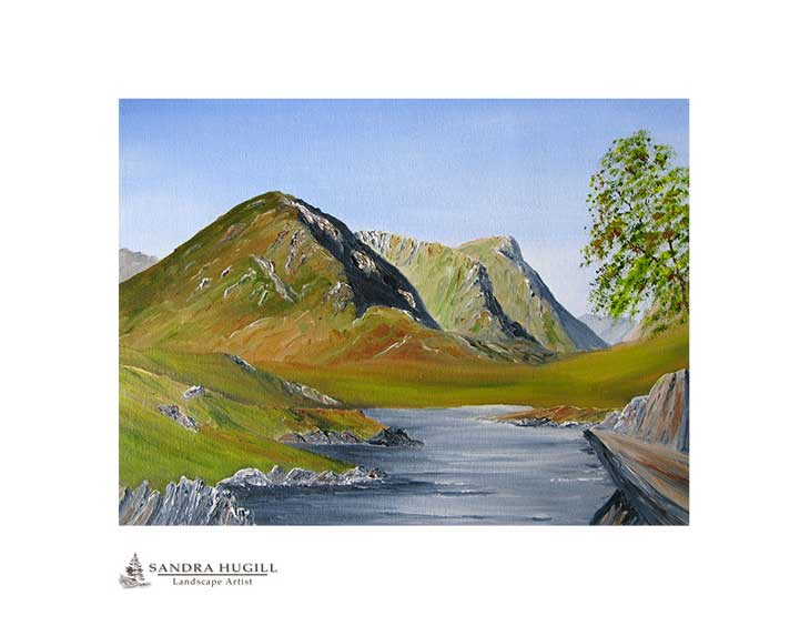 Three Sisters of Glencoe, Fine art limited edition print