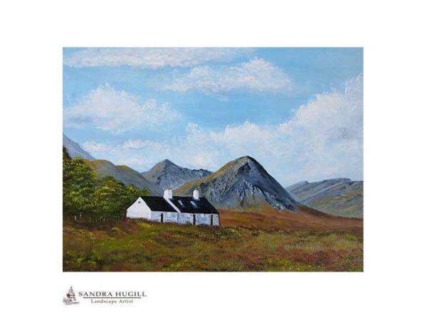 Blackrock Cottage Glencoe Print