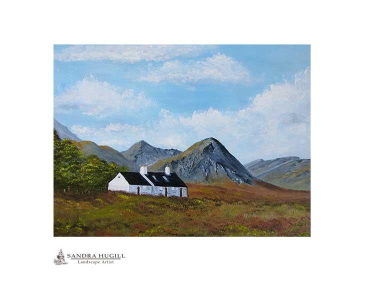 Blackrock Cottage Buachaille Etive Mor, Glencoe limited edition fine art print