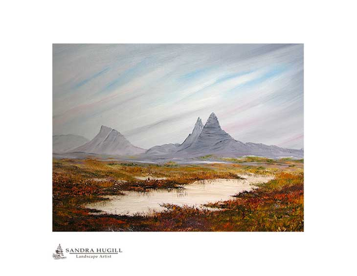 Suilven Assynt, Scottish Highlands limited edition fine art print