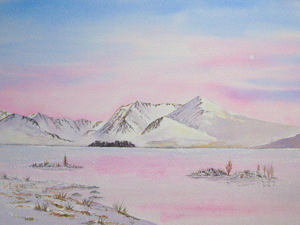 Rannoch Moor Winter Sunrise