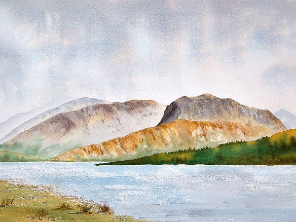 Ben Nevis across Loch Eil