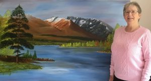 Ben Nevis commission oil painting