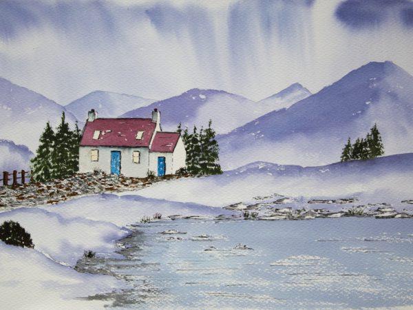 Scottish Highlands Bothy