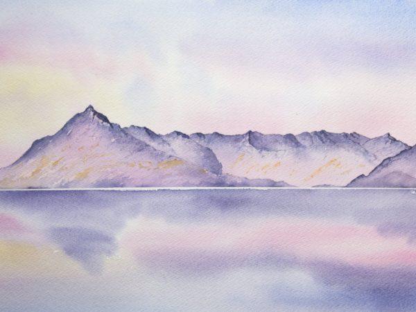 Cuillin of Skye sunset