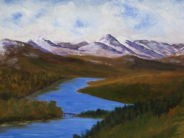 Loch Garry and Knoydart