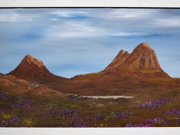 Suilven and Canisp from Strone