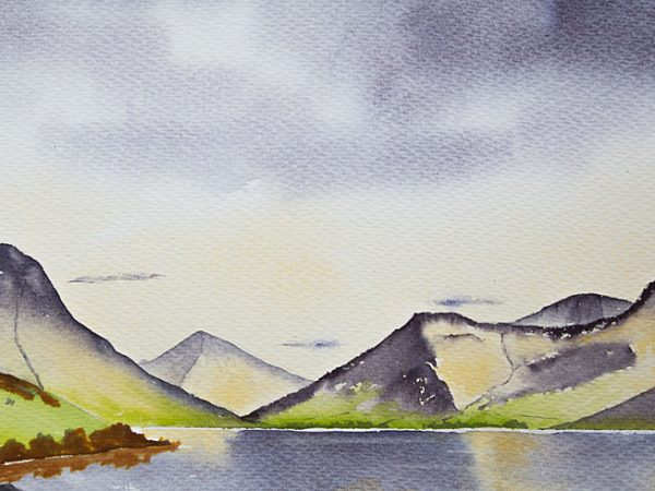 Wastwater and The Scafells
