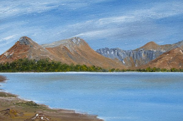 Pap of Glencoe and Loch Leven